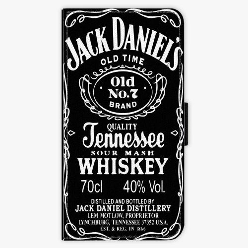 Flipové pouzdro iSaprio - Jack Daniels - Huawei Ascend P9 Lite