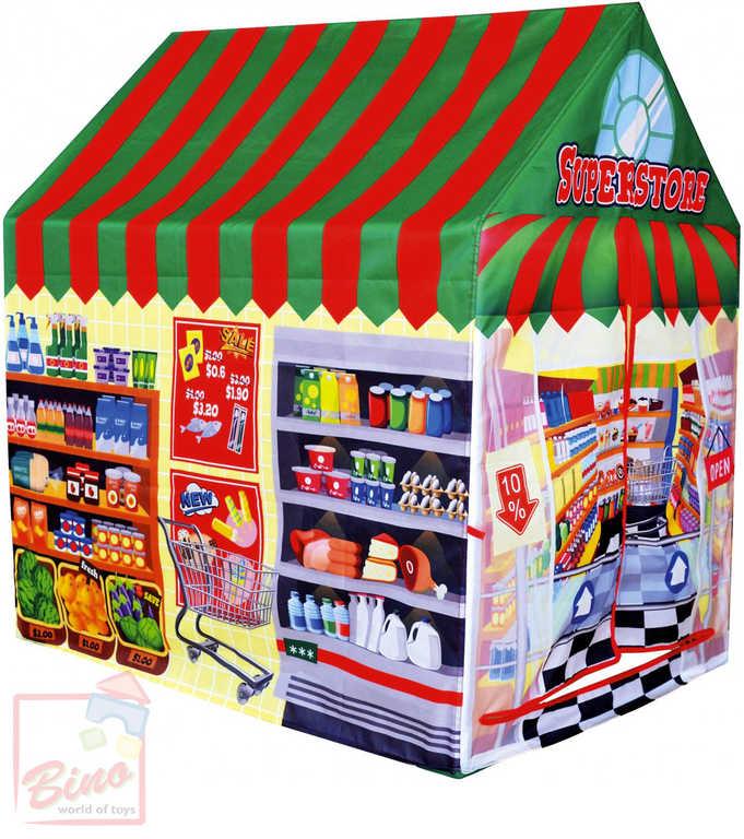 BINO Stan dětský prodejna potravin 95x102x72cm superstore