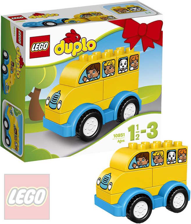 LEGO DUPLO Můj první autobus 10851 STAVEBNICE