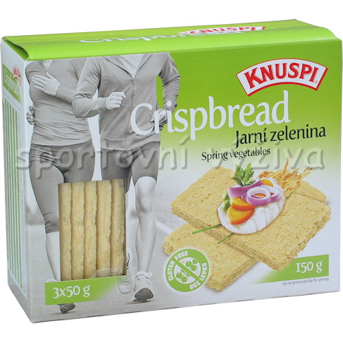Knuspi Crispbred jarní zelenina 150g