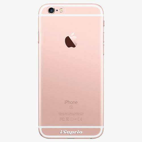 Silikonové pouzdro iSaprio - 4Pure - průhledný matný - iPhone 7