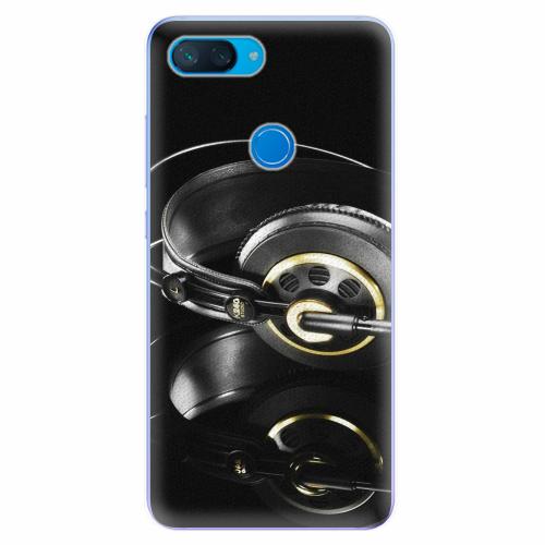 Silikonové pouzdro iSaprio - Headphones 02 - Xiaomi Mi 8 Lite