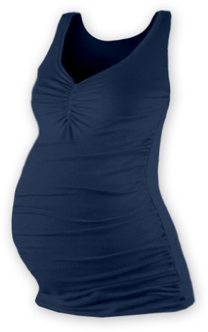 Těhotenský topík JOLANA - jeans