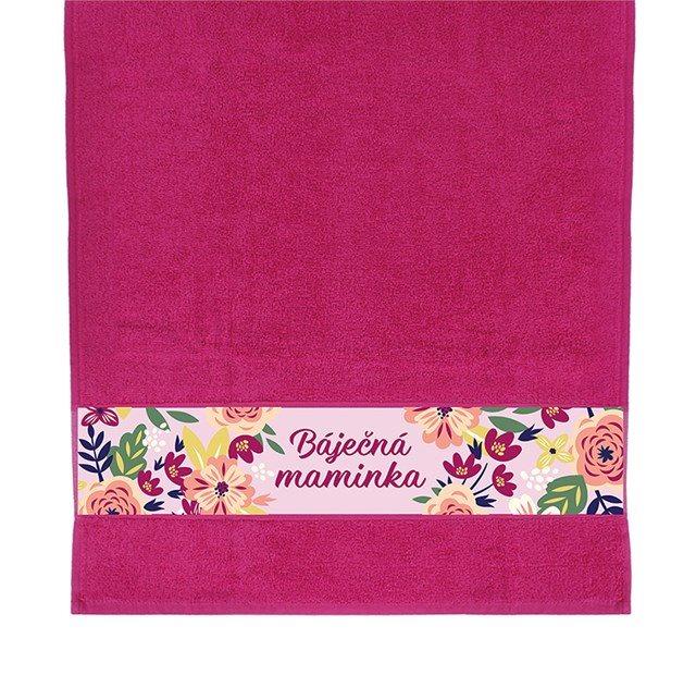 Dárkové ručníky - Ručník - Báječná maminka