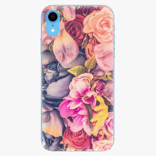 Silikonové pouzdro iSaprio - Beauty Flowers - iPhone XR