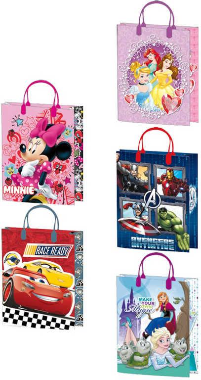 Taška dětská dárková 19x25cm Disney motivy 5 druhů plast