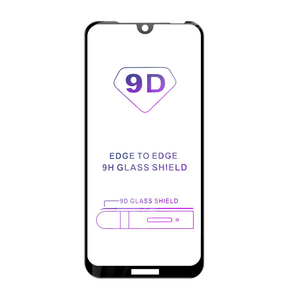 Tvrzené sklo iSaprio 9D BLACK pro Huawei Y6 2019