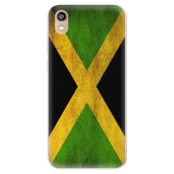 Odolné silikonové pouzdro iSaprio - Flag of Jamaica - Huawei Honor 8S
