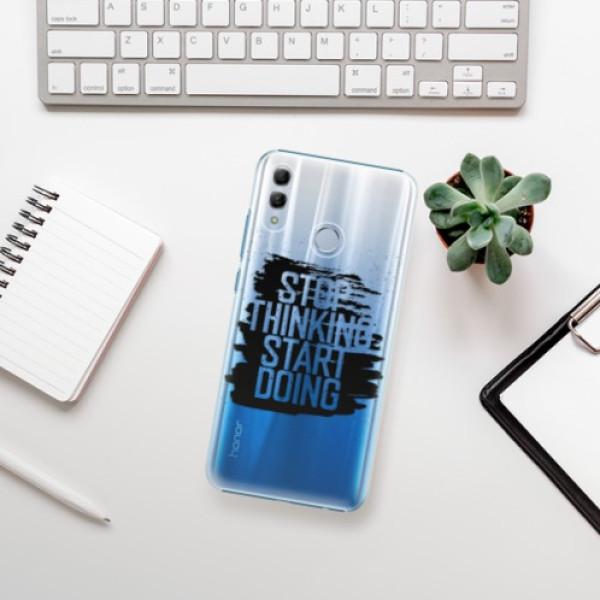 Plastové pouzdro iSaprio - Start Doing - black - Huawei Honor 10 Lite