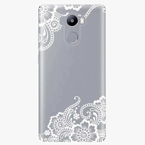 Plastový kryt iSaprio - White Lace 02 - Xiaomi Redmi 4 / 4 PRO / 4 PRIME