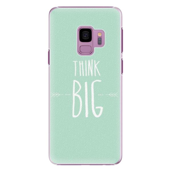 Plastové pouzdro iSaprio - Think Big - Samsung Galaxy S9