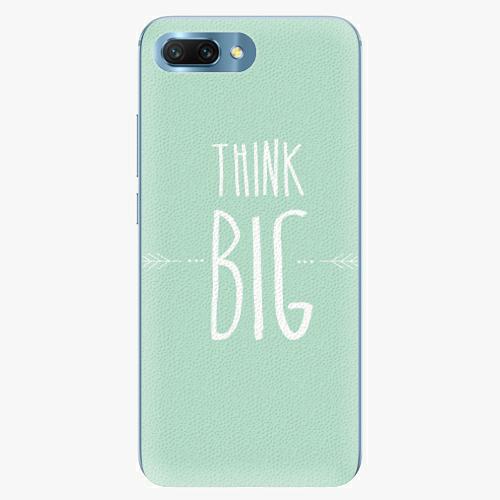 Silikonové pouzdro iSaprio - Think Big - Huawei Honor 10