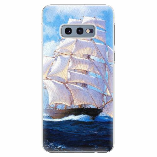 Plastový kryt iSaprio - Sailing Boat - Samsung Galaxy S10e