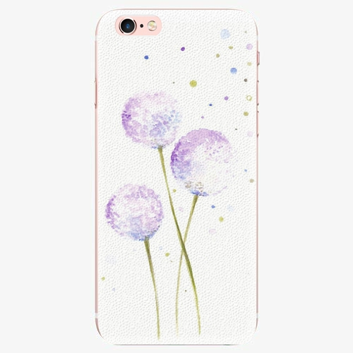 Silikonové pouzdro iSaprio - Dandelion - iPhone 7