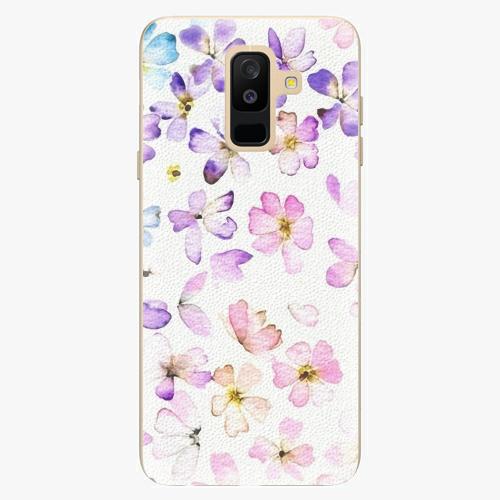 Plastový kryt iSaprio - Wildflowers - Samsung Galaxy A6 Plus