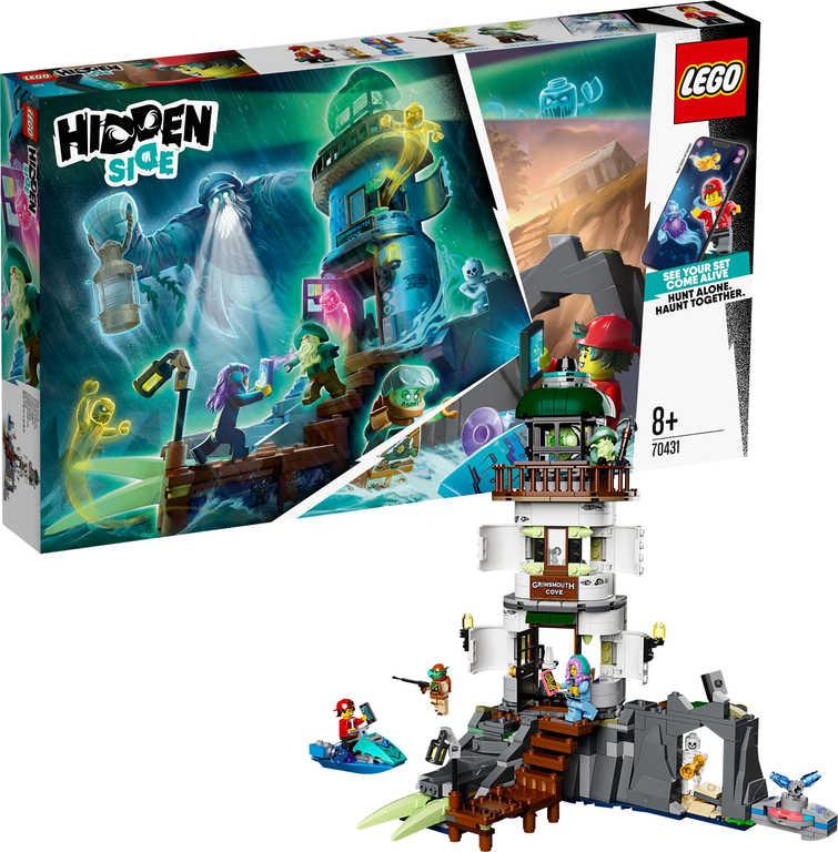 LEGO HIDDEN SIDE Temný maják 70431 STAVEBNICE