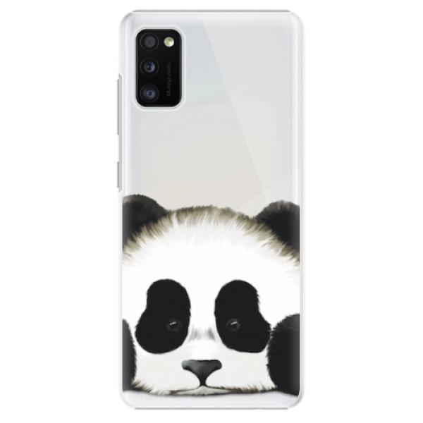 Plastové pouzdro iSaprio - Sad Panda - Samsung Galaxy A41