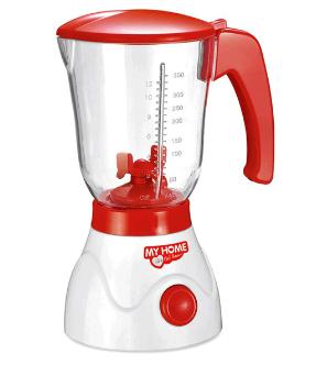 Dětský kuchyňský mixer, červeno-bílý