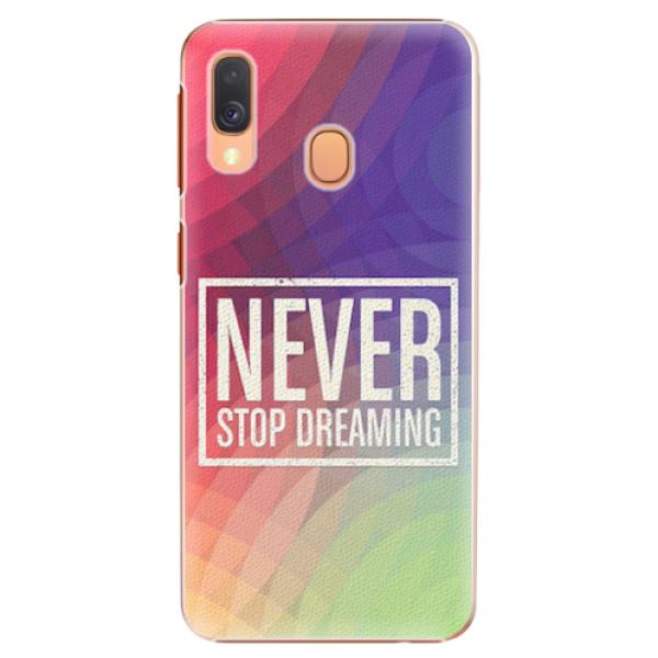 Plastové pouzdro iSaprio - Dreaming - Samsung Galaxy A40