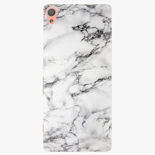 Plastový kryt iSaprio - White Marble 01 - Sony Xperia XA