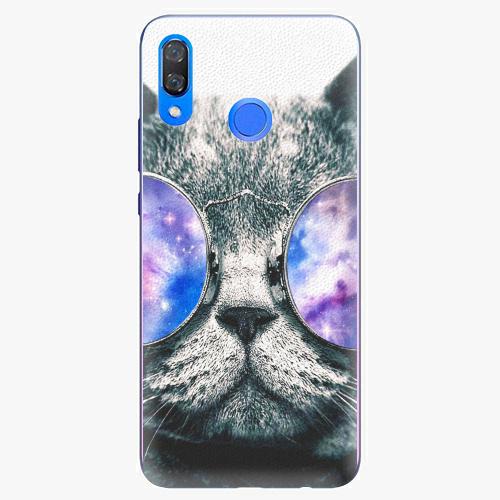 Plastový kryt iSaprio - Galaxy Cat - Huawei Y9 2019