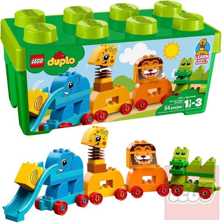LEGO DUPLO Můj první box se zvířátky 10863