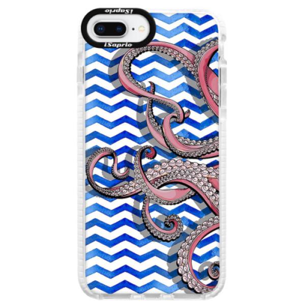 Silikonové pouzdro Bumper iSaprio - Octopus - iPhone 8 Plus
