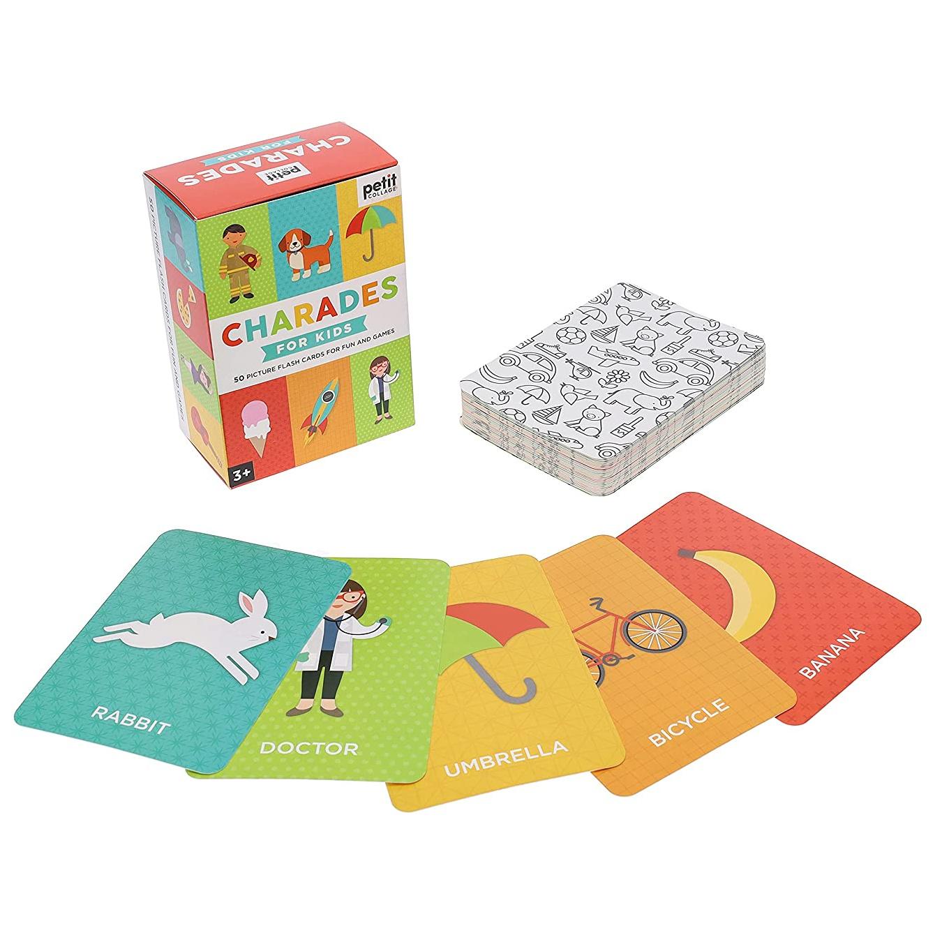 Petit Collage Karetní hra Charades