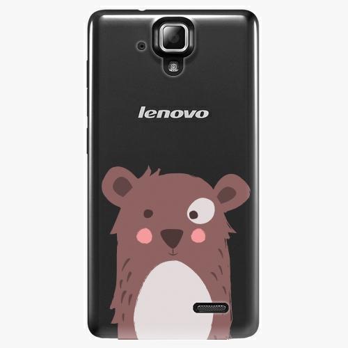 Plastový kryt iSaprio - Brown Bear - Lenovo A536