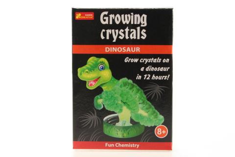Rostoucí krystaly dinosaurus