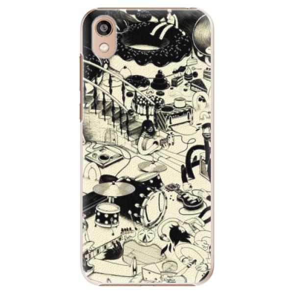 Plastové pouzdro iSaprio - Underground - Huawei Honor 8S