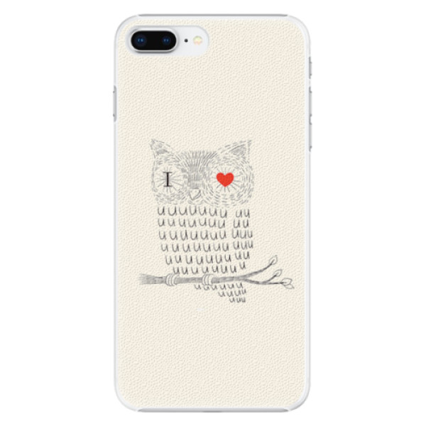 Plastové pouzdro iSaprio - I Love You 01 - iPhone 8 Plus