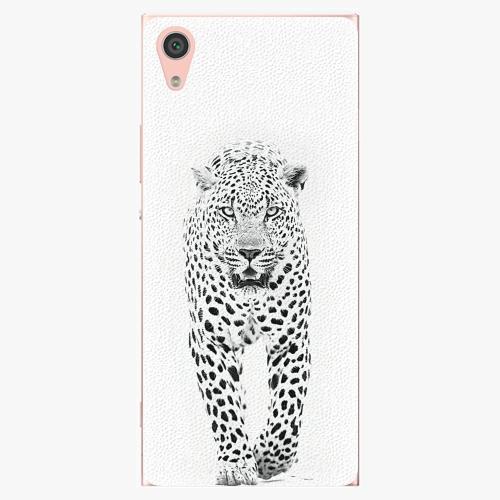 Plastový kryt iSaprio - White Jaguar - Sony Xperia XA1