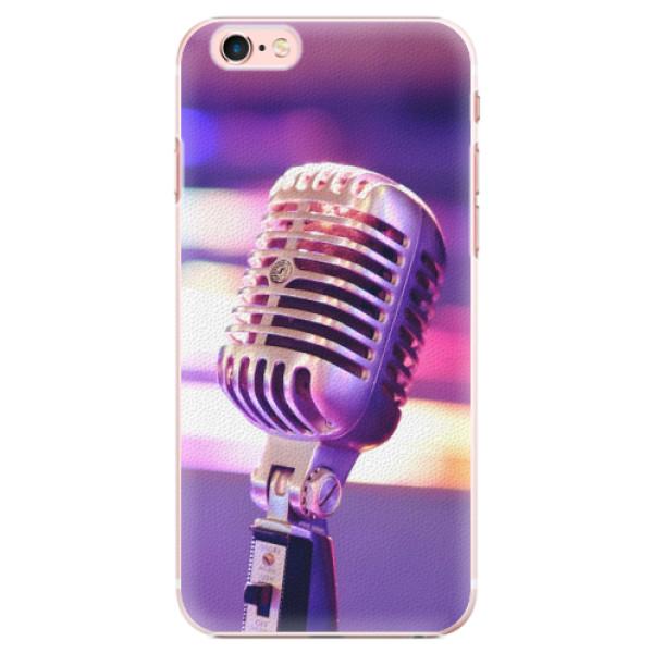 Plastové pouzdro iSaprio - Vintage Microphone - iPhone 6 Plus/6S Plus