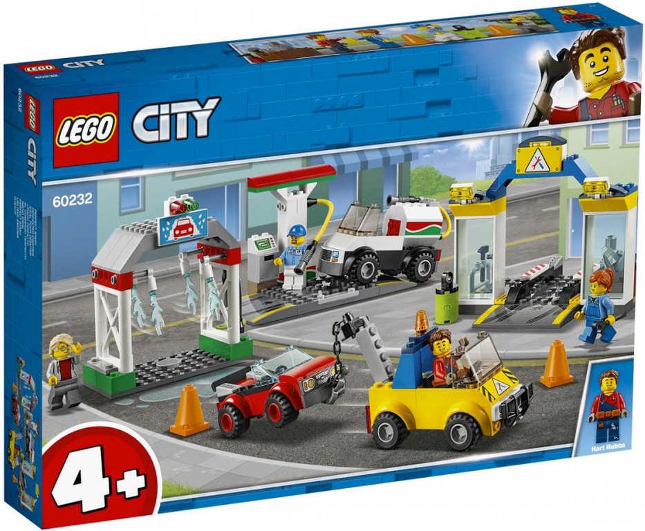 LEGO CITY Autoservis 60232 STAVEBNICE