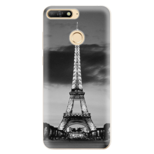Odolné silikonové pouzdro iSaprio - Midnight in Paris - Huawei Y6 Prime 2018