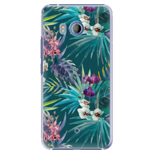 Plastové pouzdro iSaprio - Tropical Blue 01 - HTC U11