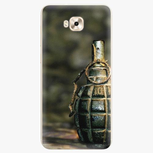 Plastový kryt iSaprio - Grenade - Asus ZenFone 4 Selfie ZD553KL