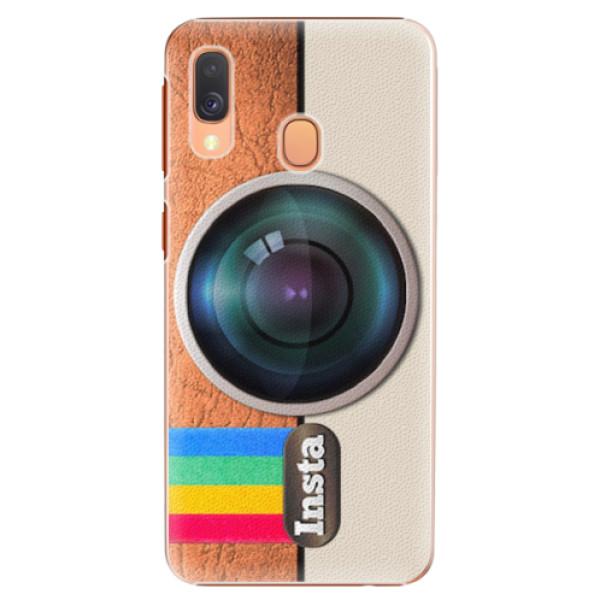 Plastové pouzdro iSaprio - Insta - Samsung Galaxy A40