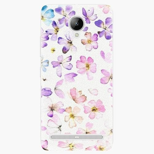 Plastový kryt iSaprio - Wildflowers - Lenovo C2