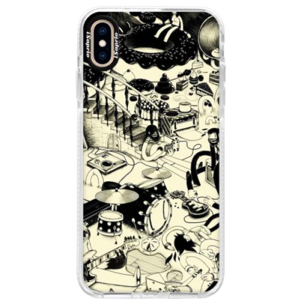 Silikonové pouzdro Bumper iSaprio - Underground - iPhone XS Max