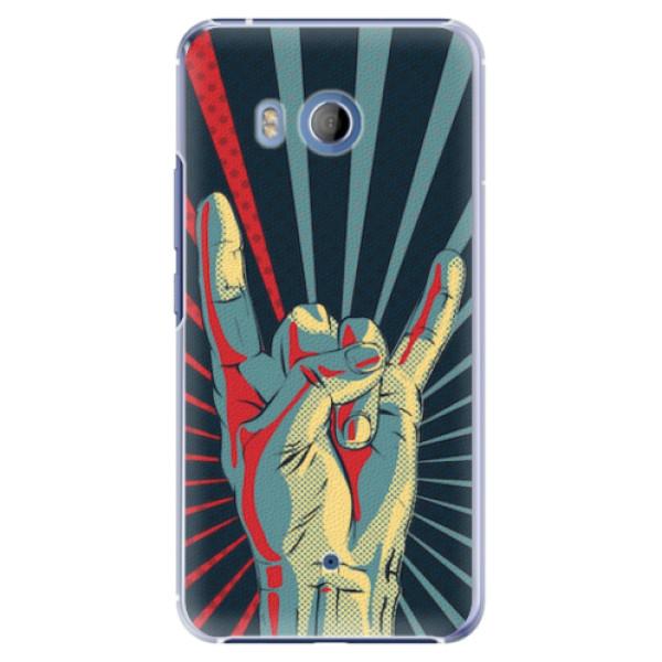 Plastové pouzdro iSaprio - Rock - HTC U11