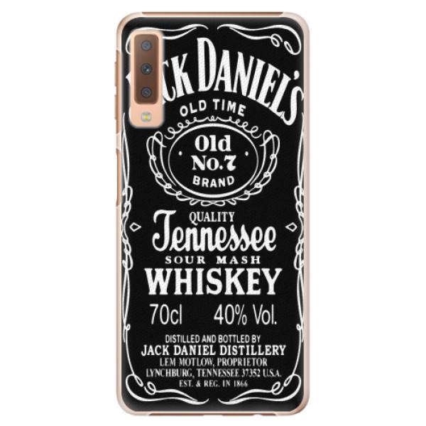 Plastové pouzdro iSaprio - Jack Daniels - Samsung Galaxy A7 (2018)
