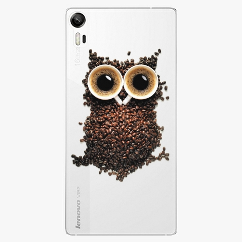 Plastový kryt iSaprio - Owl And Coffee - Lenovo Vibe Shot