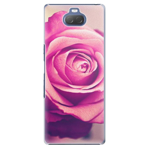 Plastové pouzdro iSaprio - Pink Rose - Sony Xperia 10 Plus