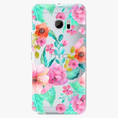 Plastový kryt iSaprio - Flower Pattern 01 - HTC 10