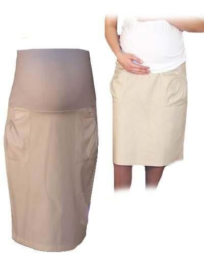 Těhotenská sportovní sukně s kapsami