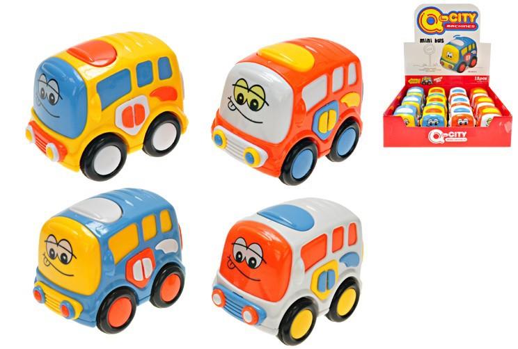 Autobus veselý mini na setrvačník