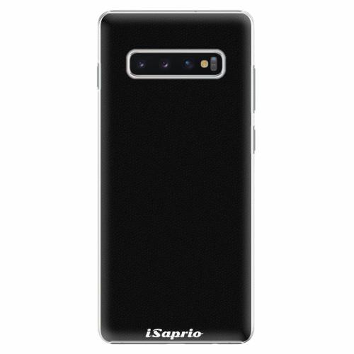 Plastový kryt iSaprio - 4Pure - černý - Samsung Galaxy S10+