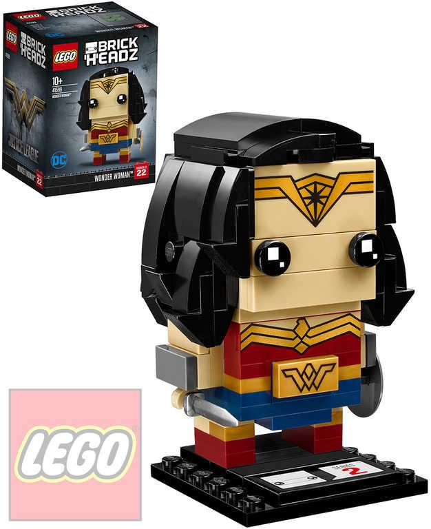 LEGO BRICKHEADZ Liga spravedlnosti Wonder Woman STAVEBNICE 41599